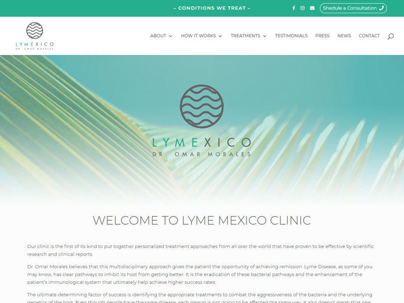 Lyme Disease Clinics in Mexico – Lyme Disease Treatment in Mexico